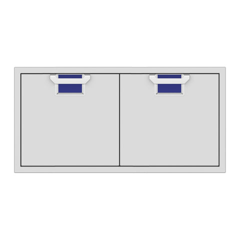 Aspire by Hestan 42-Inch Double Access Doors (Prince Blue) - AEAD42-BU