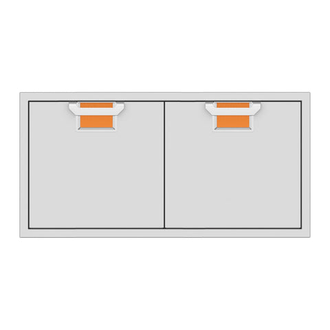 Aspire by Hestan 42-Inch Double Access Doors (Citra Orange) - AEAD42-OR