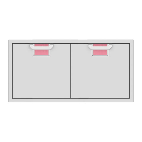 Aspire by Hestan 42-Inch Double Access Doors (Reef Pink) - AEAD42-PK