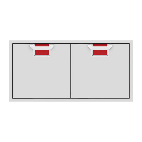 Aspire by Hestan 42-Inch Double Access Doors (Matador Red) - AEAD42-RD