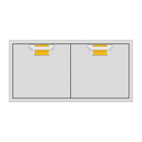 Aspire by Hestan 42-Inch Double Access Doors (Sol Yellow) - AEAD42-YW