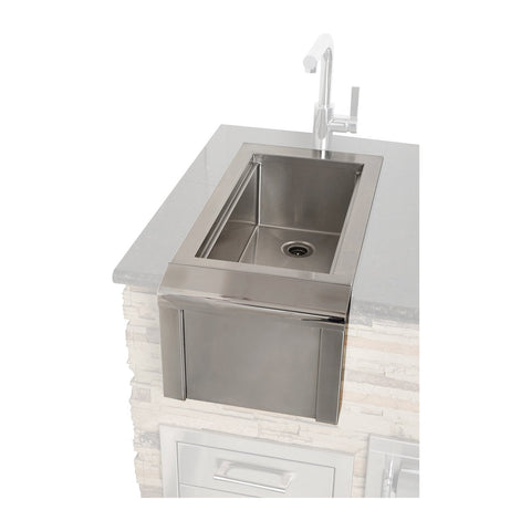 Alfresco 14-Inch Built-In Versa Bartender & Sink System (No Faucet Included) - AGBC-14