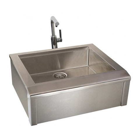 Alfresco 30-Inch Built-In Main Sink System - AGBC-30 (Faucet not included)