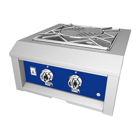 Hestan 24-Inch Natural Gas Built-In Power Burner in Blue - AGPB24-NG-BU