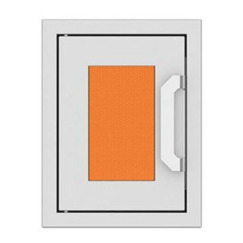 Hestan 16-Inch Paper Towel Dispenser w/ Recessed Marquise Accent Panel in Orange - AGPTD16-OR