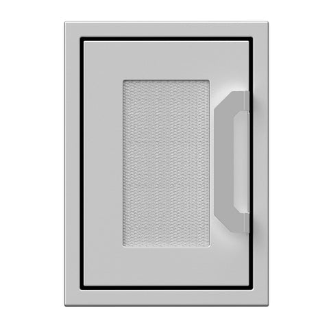 Hestan 16-Inch Paper Towel Dispenser w/ Recessed Marquise Accent Panel in Stainless Steel - AGPTD16