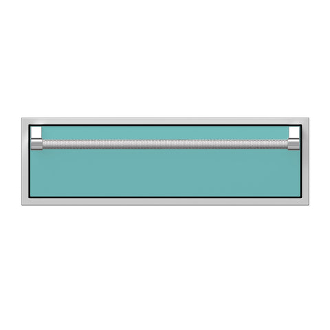 Hestan 36-Inch Single Storage Drawer in Turquoise - AGSR36-TQ