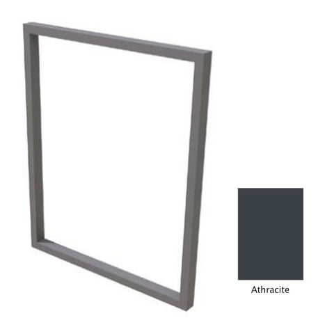 "Canyon Series 36""w by 18""h Trim Kit In Anthracite - CAN-TRK-36x18-Anthracite"
