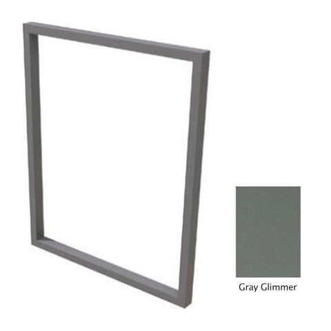"Canyon Series 30""w by 18""h Trim Kit In Grey Glimmer - CAN-TRK-30x18-TexturedGreyGlimmer"
