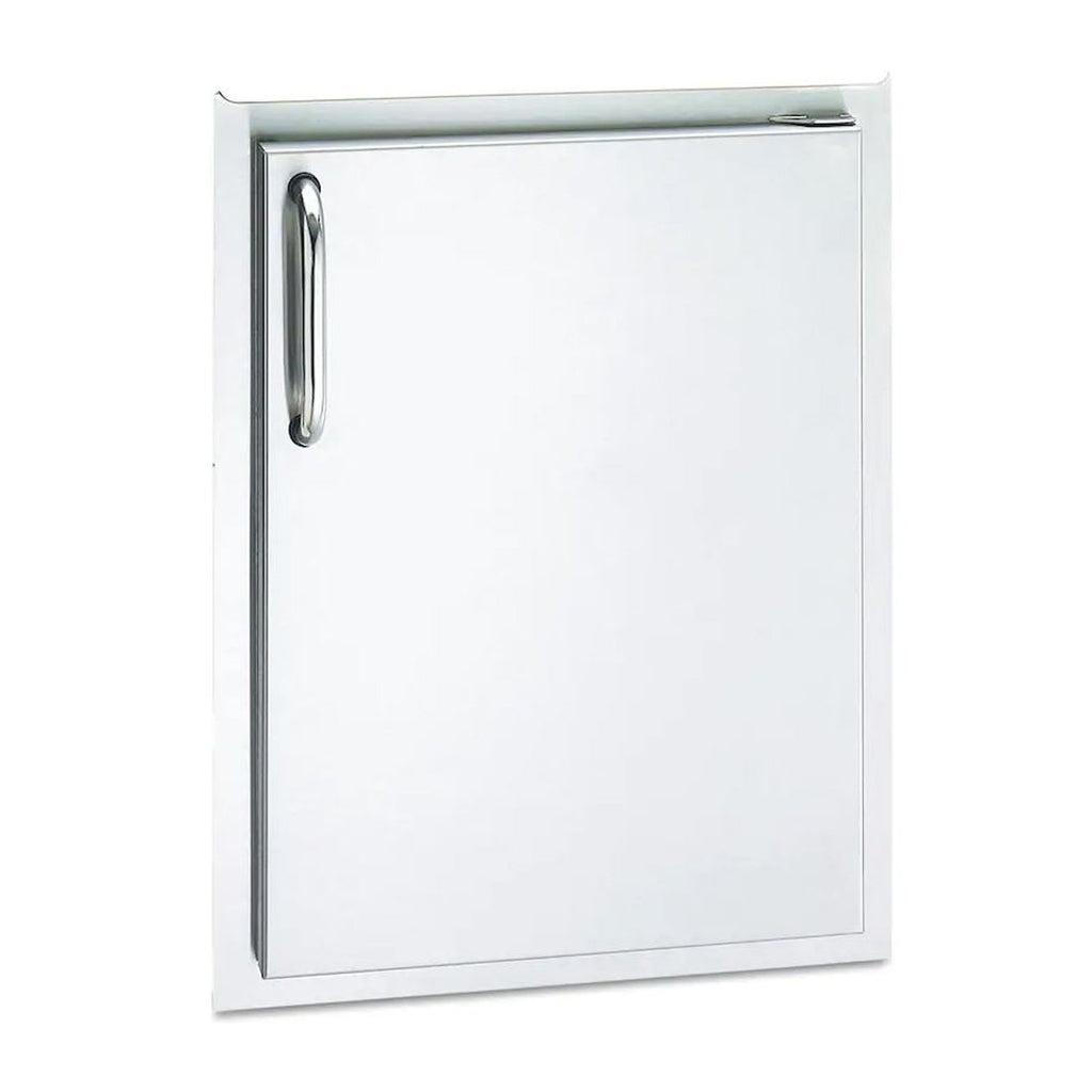 American Outdoor Grill 20x14 Single Access Door w/ Tubular Handle (Right Hinge) - 20-14-SSDR