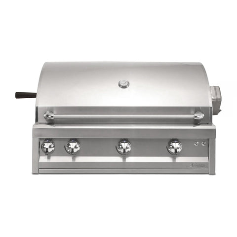 Artisan Professional 42-Inch Natural Gas Built-In Gill w/ Rotisserie and Lights - ARTP-42-NG