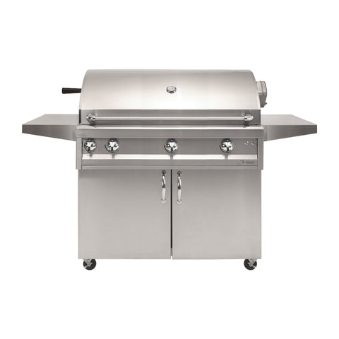 Artisan Professional 42-Inch Propane Gas Freestanding Gill w/ Rotisserie and Lights - ARTP-42C-LP