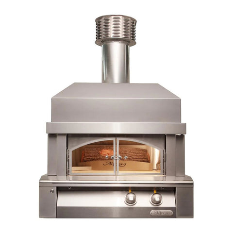 Alfresco 30-Inch Natural Gas Built-In Pizza Oven Plus - AXE-PZA-BI-NG