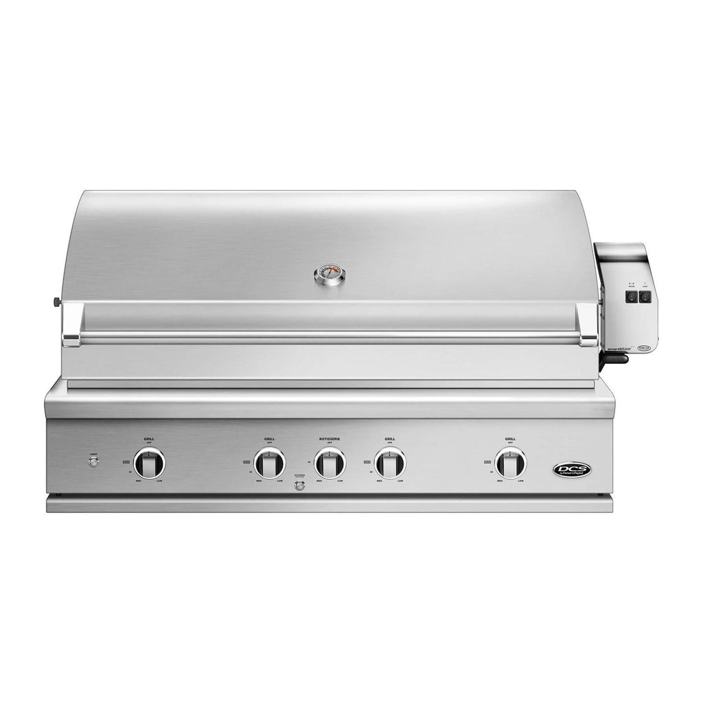 DCS Series 9 Evolution 48-Inch Propane Gas Built-In Grill w/ Rotisserie - BE1-48RC-L