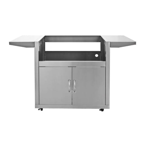Blaze Stainless Steel Grill Cart with Two Access Doors for 32-Inch Grills - BLZ-4-CART