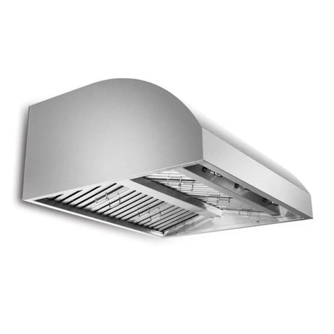 Blaze 42-Inch Stainless Steel 2000 CFM Outdoor Wall Vent Hood - BLZ-42-VHOOD