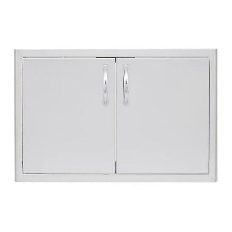 Blaze 25-Inch Stainless Steel Double Access Doors - BLZ-AD25-R