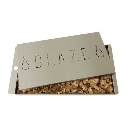 Blaze Professional LUX Extra Large Stainless Steel Smoker Box - BLZ-XL-PROSMBX