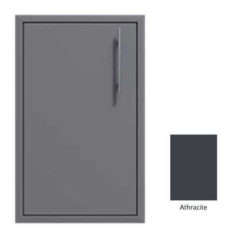 "Canyon Series 18""w by 29""h Single Door Enclosure w/ Adj. Shelf (Left Hinge) In Anthracite - CAN001-F01-LftHng-Anthracite"