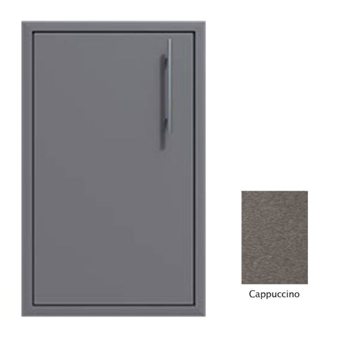 "Canyon Series 18""w by 29""h Single Door Enclosure w/ Adj. Shelf (Left Hinge) In Cappuccino - CAN001-F01-LftHng-Cappuccino"