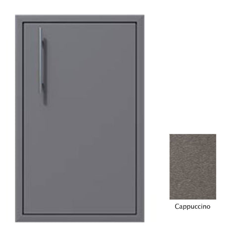 "Canyon Series 18""w by 29""h Single Door Enclosure w/ Adj. Shelf (Right Hinge) In Cappuccino - CAN001-F01-RghtHng-Cappuccino"