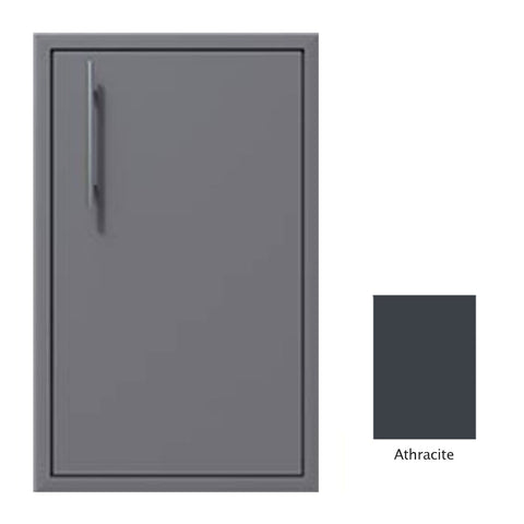 "Canyon Series 18""w by 29""h Single Access Door (Right Hinge) In Anthracite - CAN001-F02-RghtHng-Anthracite"