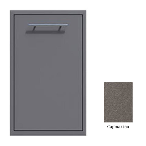 "Canyon Series 18""w by 29""h Trash Pullout Drawer Enclosure (Bin Included) In Cappuccino - CAN001-F04-Cappuccino"