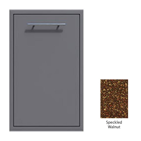 "Canyon Series 18""w by 29""h Trash Pullout Drawer Enclosure (Bin Included) In Speckled Walnut - CAN001-F04-SpeckWalnut"