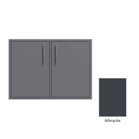 "Canyon Series 40""w by 29""h Double Door Enclosure w/ Adj. Shelf In Anthracite - CAN014-F01-Anthracite"