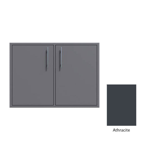 "Canyon Series 30""w by 29""h Double Access Door In Anthracite - CAN008-F02-Anthracite"
