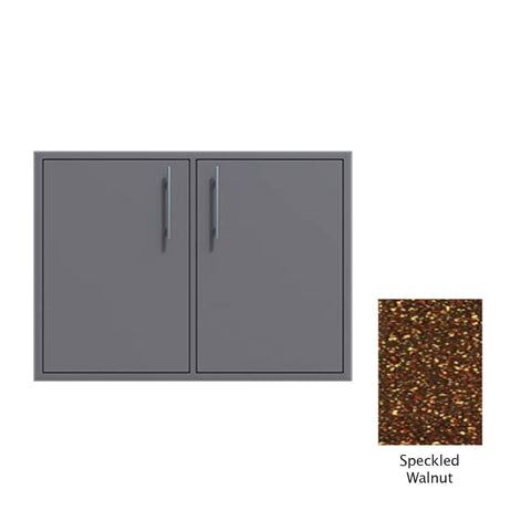 "Canyon Series 30""w by 29""h Double Access Door In Speckled Walnut - CAN008-F02-SpeckWalnut"
