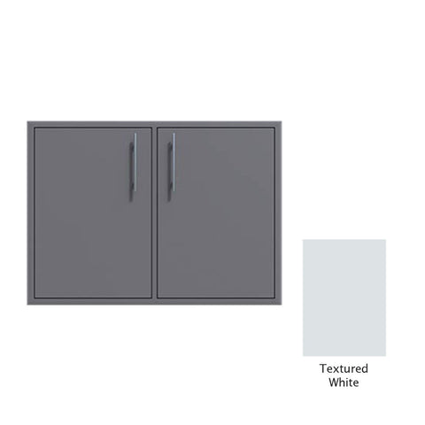 "Canyon Series 30""w by 29""h Double Access Door In Textured White - CAN008-F02-TexturedWhite"