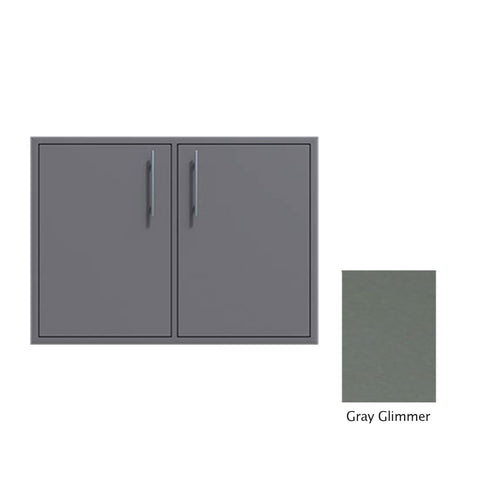 "Canyon Series 30""w by 29""h Double Access Door In Grey Glimmer - CAN008-F02-TexturedGreyGlimmer"