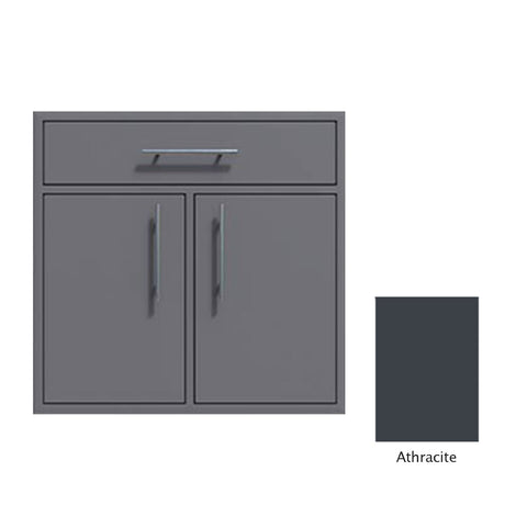 "Canyon Series 36""w by 29""h Double Door, Drawer Enclosure w/ Adj. Shelf In Anthracite - CAN012-F01-Anthracite"