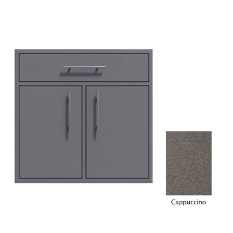 "Canyon Series 36""w by 29""h Double Door, Drawer Enclosure w/ Adj. Shelf In Cappuccino - CAN012-F01-Cappuccino"