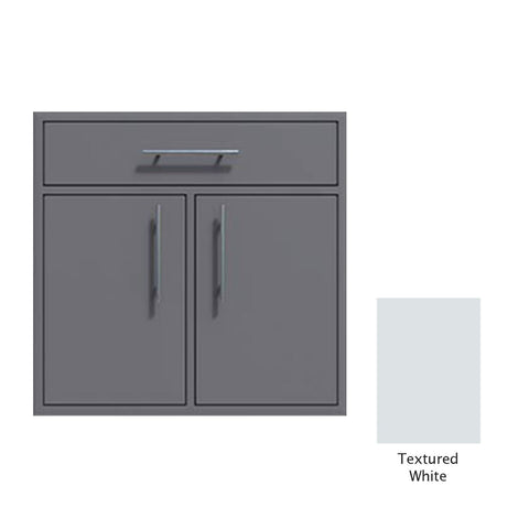 "Canyon Series 36""w by 29""h Double Door, Drawer Enclosure w/ Adj. Shelf In Textured White - CAN012-F01-TexturedWhite"