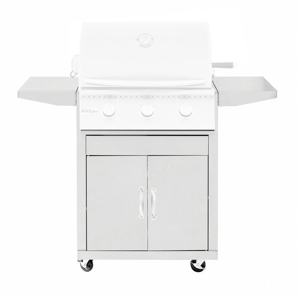 Summerset Stainless Steel Cart for 26-Inch Sizzler Grills (Cart Only) - CART-SIZ26