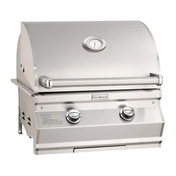Fire Magic Choice Muilt-User C430i 24-Inch Propane Gas Built-In Grill w/ Analog Thermometer - CM430I-RT1P