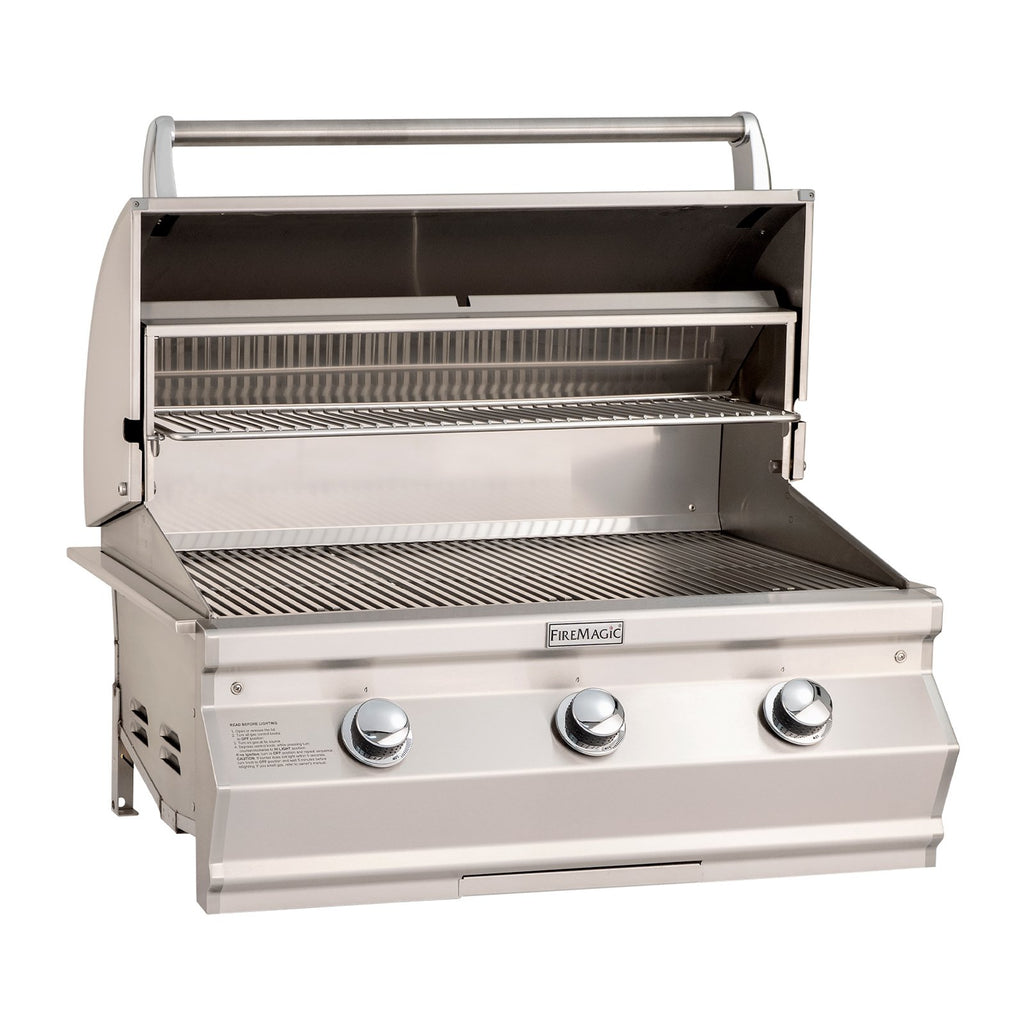 Fire Magic Choice Muilt-User C540i 30-Inch Propane Gas Built-In Grill w/ Analog Thermometer - CM540I-RT1P