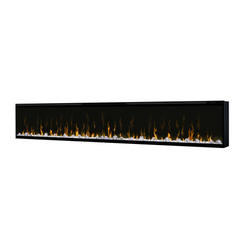 Dimplex 100-Inch IgniteXL Electric Wall Mounted Fireplace w/ Diamond Acrylic Media and Multi-fuction Remote - DXXLF100
