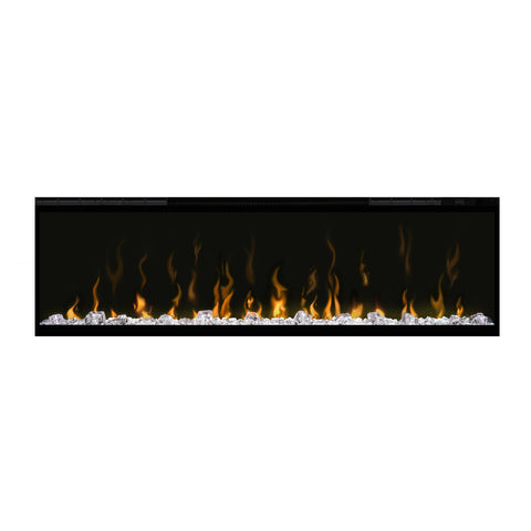 Dimplex 50-Inch IgniteXL Electric Wall Mounted Fireplace w/ Diamond Acrylic Media and Multi-fuction Remote - DXXLF50