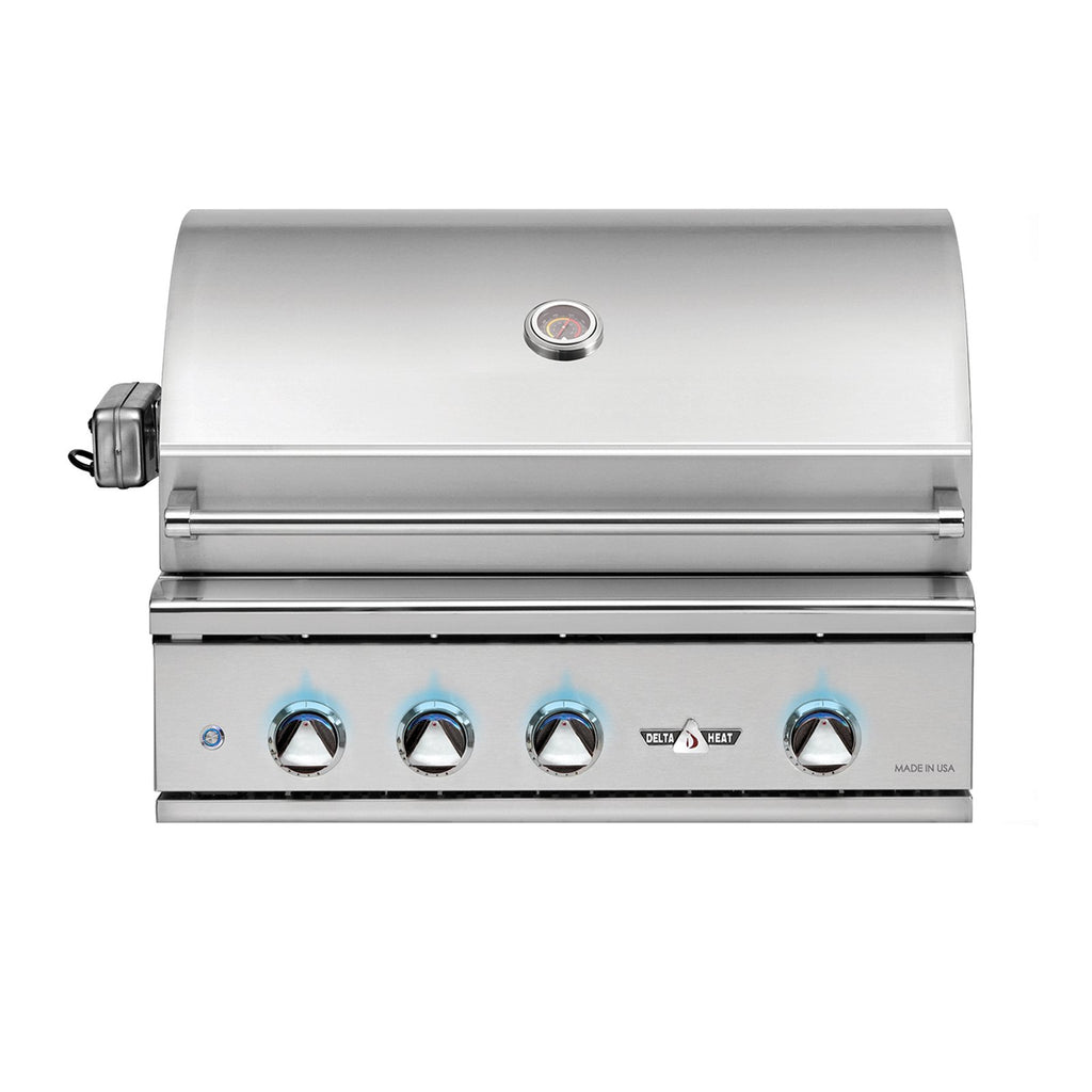 Delta Heat 32-Inch Propane Gas Built-In Grill - DHBQ32G-DL