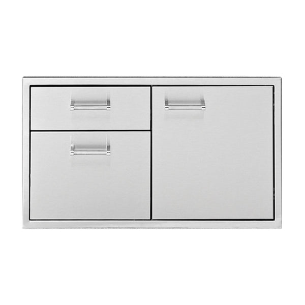 Delta Heat 36-Inch Door 2-Drawer Combo - DHDD362-B