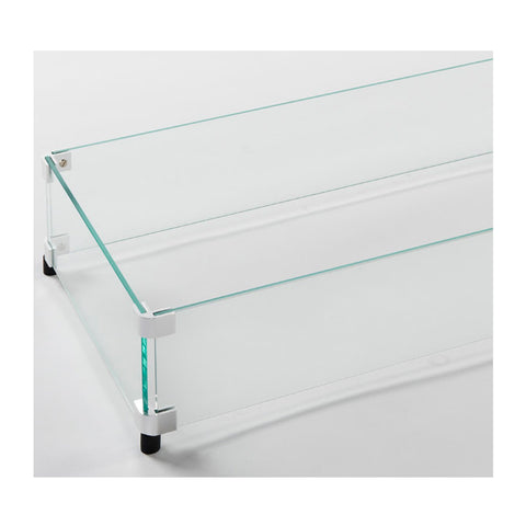 "The Outdoor GreatRoom 12"" x 96"" Linear Tempered Glass Wind Guard - GG-1296"