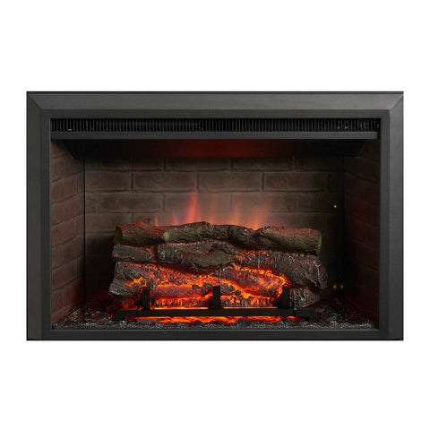 The Outdoor GreatRoom 32-Inch Electric Zero Clearance Fireplace Insert - GI-32-ZC