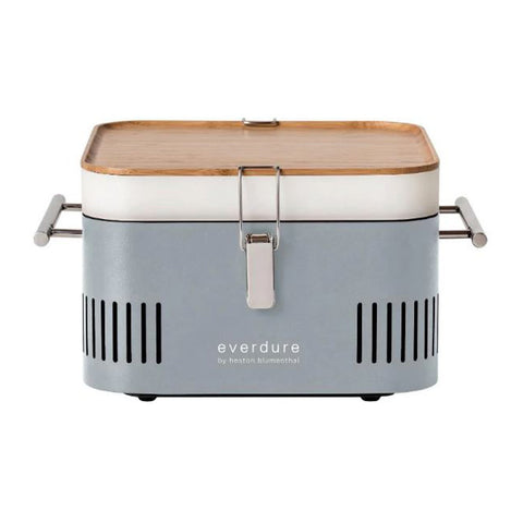 Everdure Cube Portable Charcoal Barbeque (Stone) - HBCubeSUS