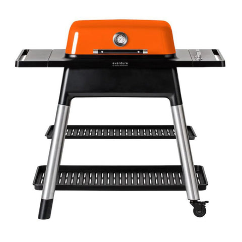 Everdure by Heston Blumenthal Force 48-Inch Propane Gas Freestanding Barbeque w/ Hose & Regulator (Orange) - HBG2OUS