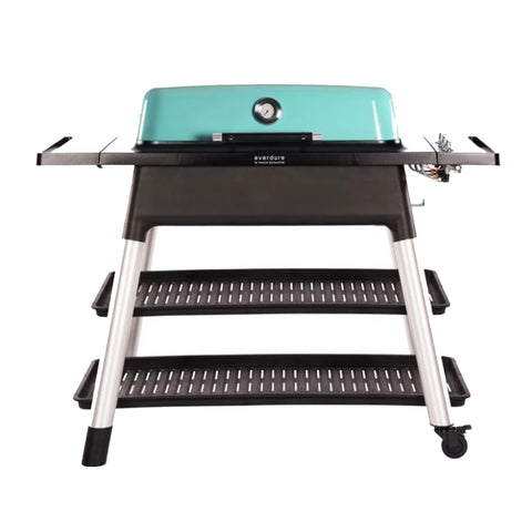 Everdure by Heston Blumenthal Furnace 52-Inch Propane Gas Freestanding Barbeque w/ Hose & Regulator (Mint) - HBG3MUS