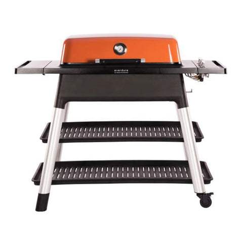 Everdure by Heston Blumenthal Furnace 52-Inch Propane Gas Freestanding Barbeque w/ Hose & Regulator (Orange) - HBG3OUS