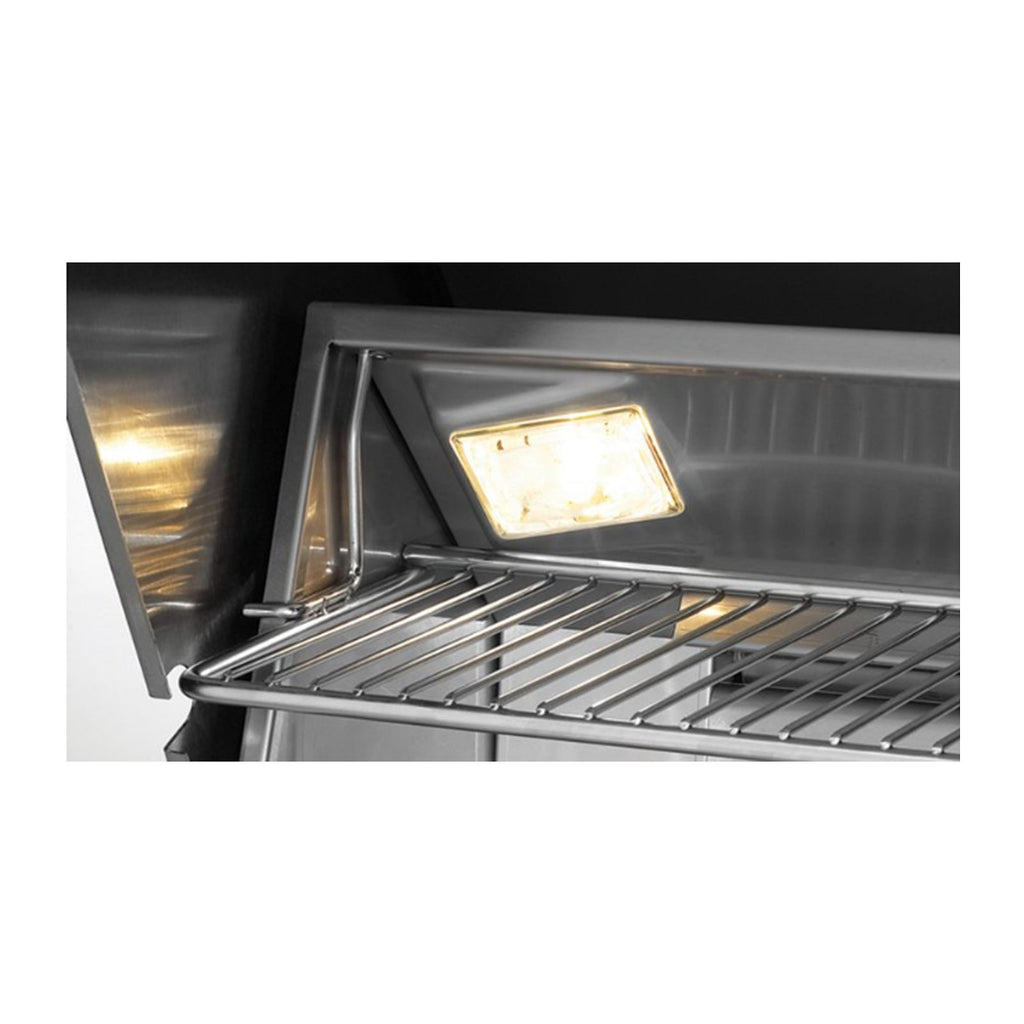 Fire Magic Aurora A430i 24-Inch Natural Gas Built-In Grill w/ Backburner, Rotisserie Kit and Analog Thermometer - A430I-8EAN